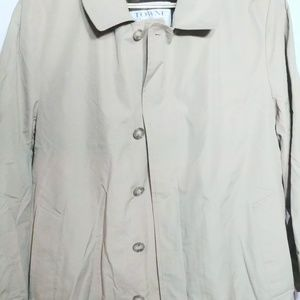 London Fog Towne Trench Coat Insulated Size 42